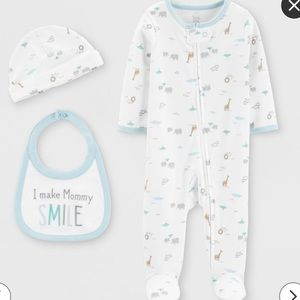 🦒 Just One You by Carters Infant Onesie set